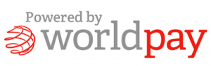 powered by world pay logo