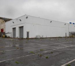 Warehouse B - External view of building