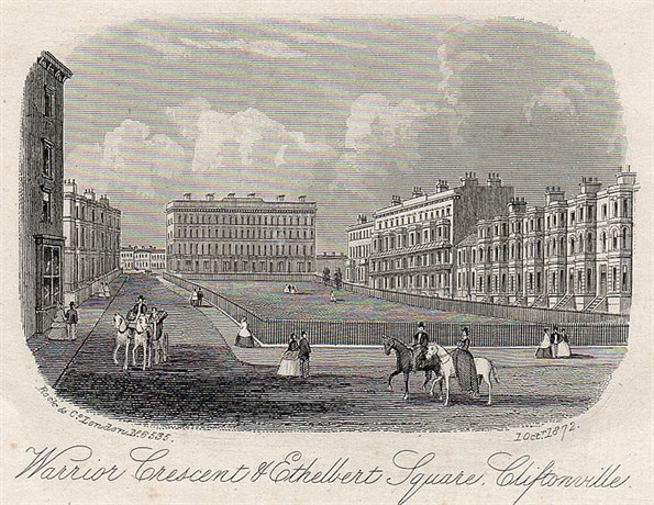 Historic image of Dalby Square