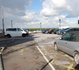 Image of the car park in use