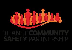Thanet Community Safety Partnership logo, 2021