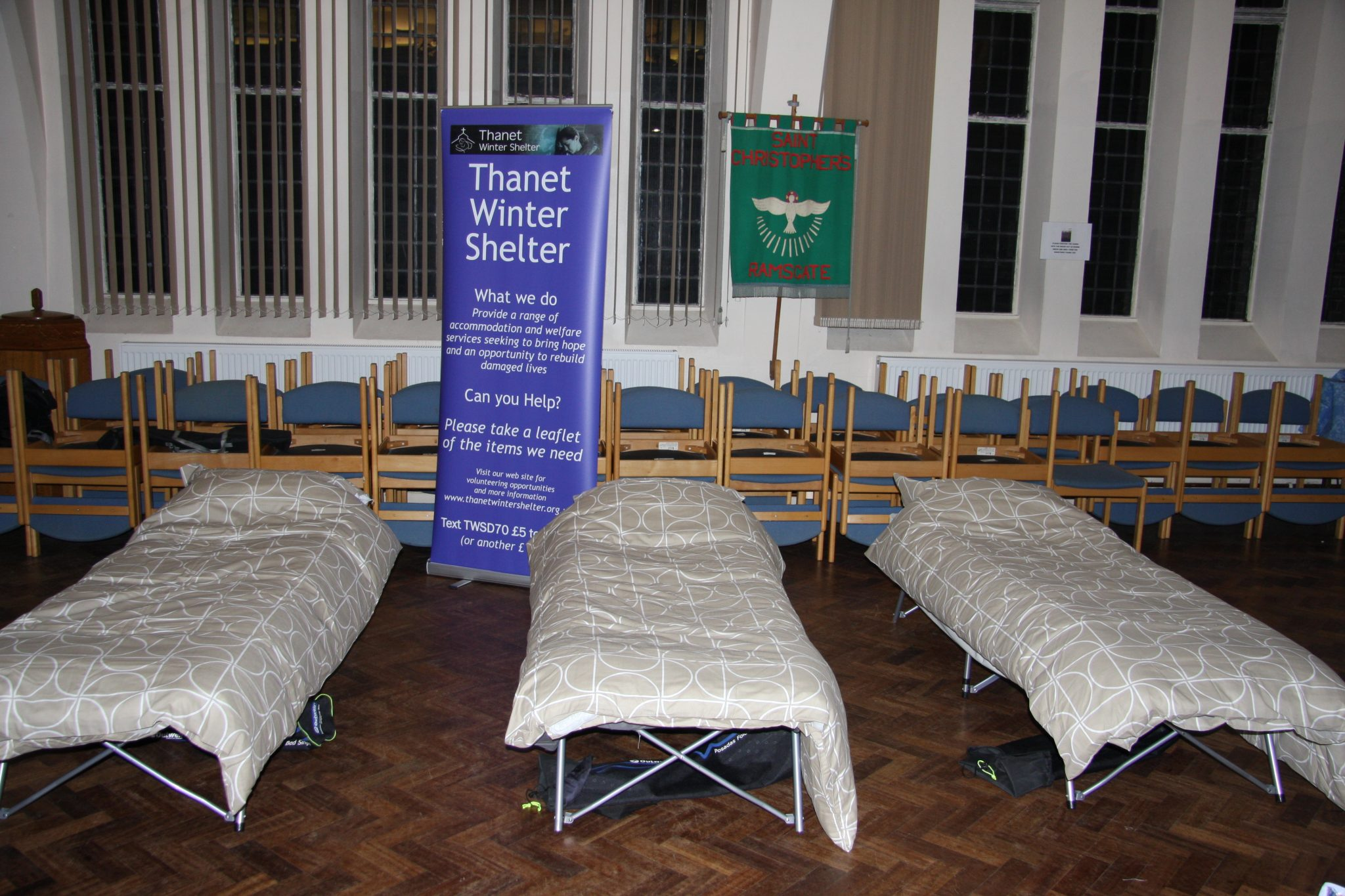 Thanet's Winter Shelter sees positive results in its second year