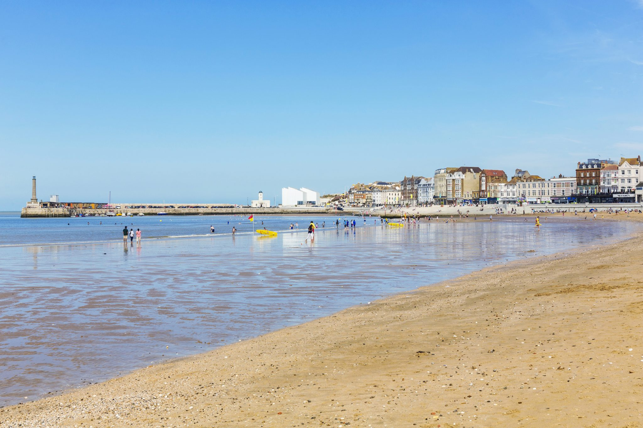 Oh we do like to be beside the Thanet seaside