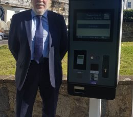 To show Leader in front on new parking system