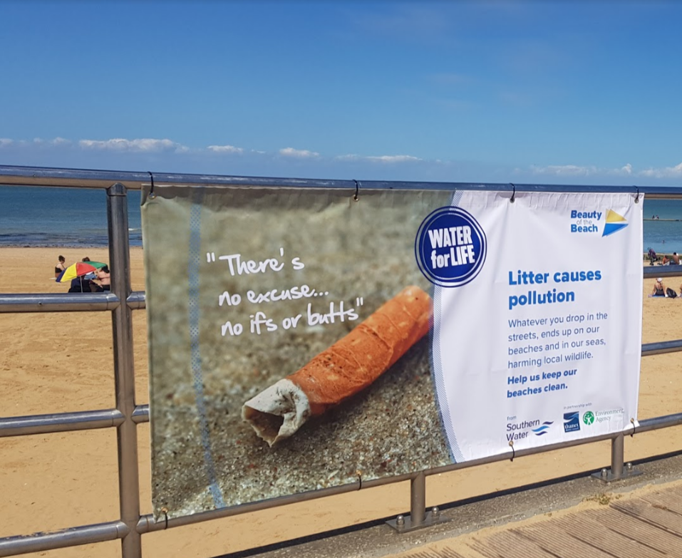 """Shocking"" amount of litter left on Margate Main Sands"