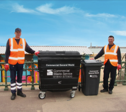 New commercial waste service a success