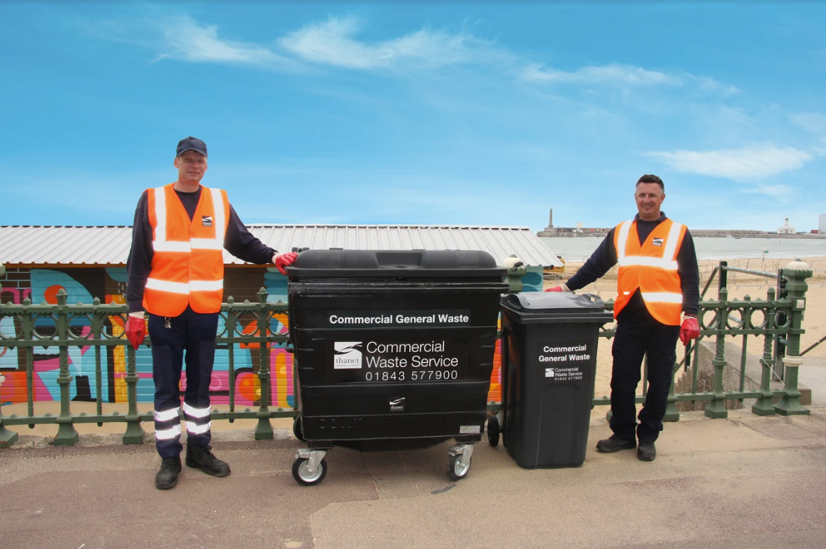 Celebrating Commercial Waste success