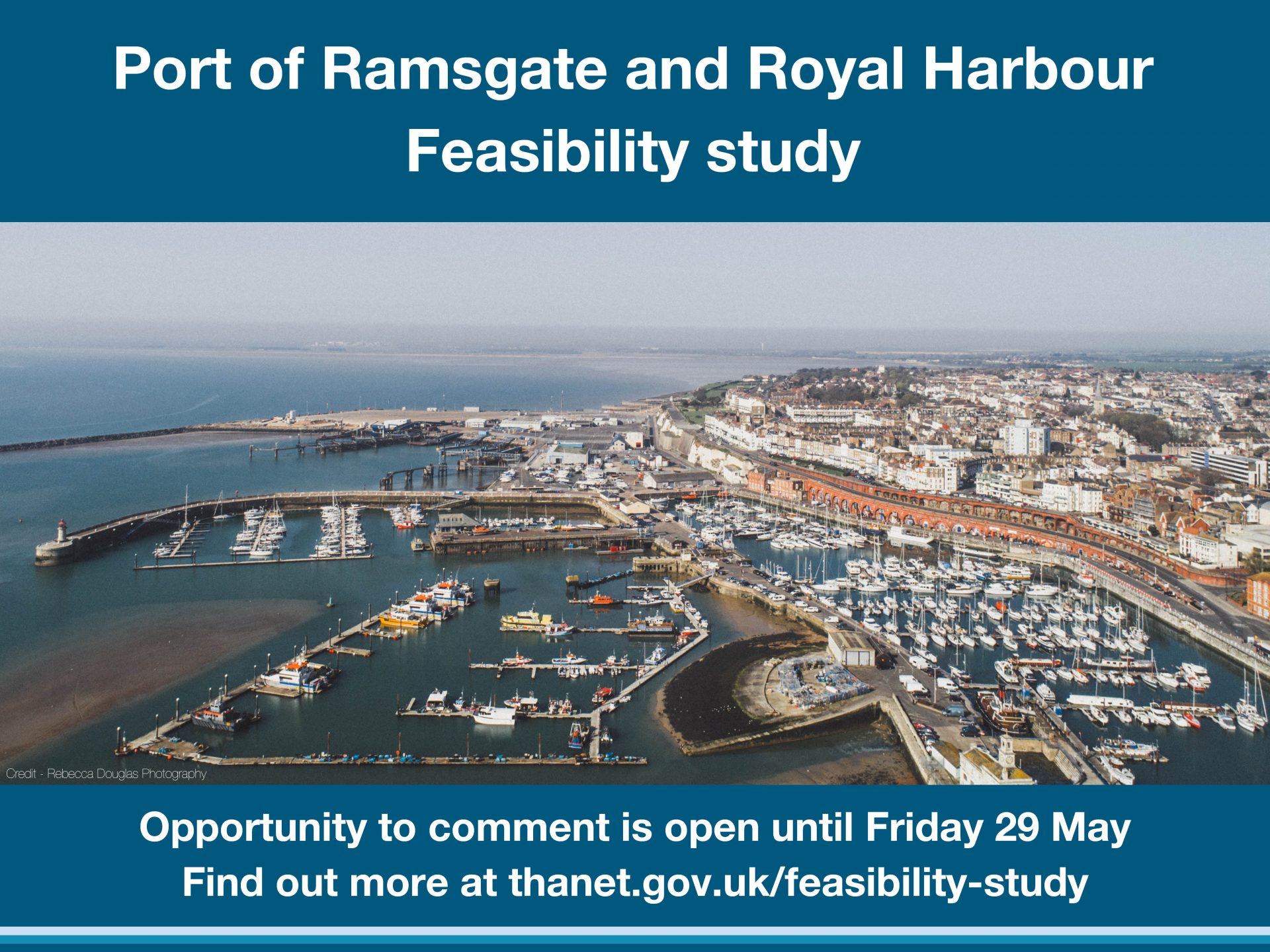Port of Ramsgate drop-in sessions cancelled