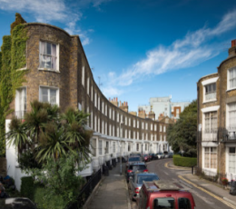 Image of a street within Ramsgate's Conservation Area