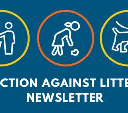 Action Against Litter Newsletter graphic