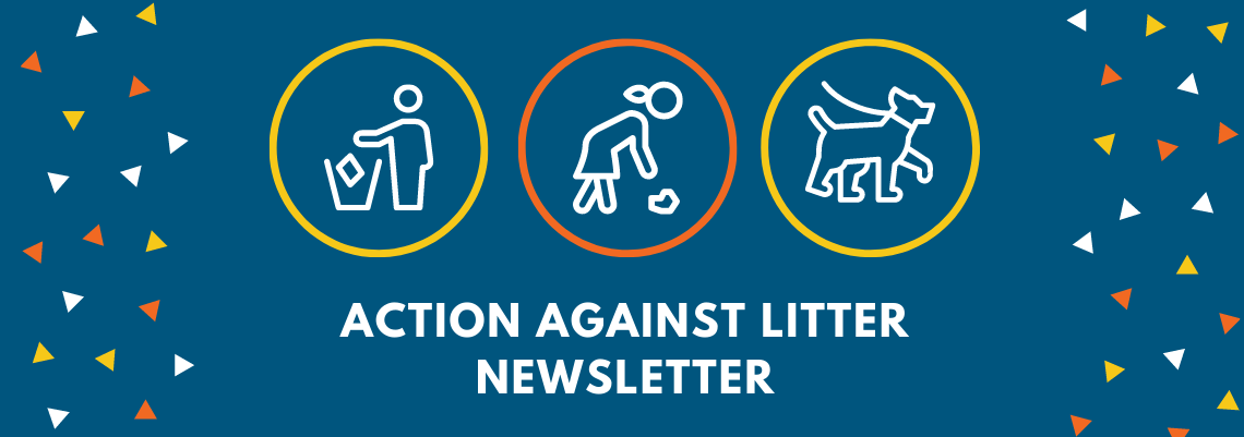 Action Against Litter Newsletter graphic