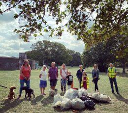 Northdown Park Litter pick