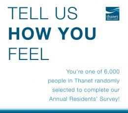 Image of residents' survey postcard