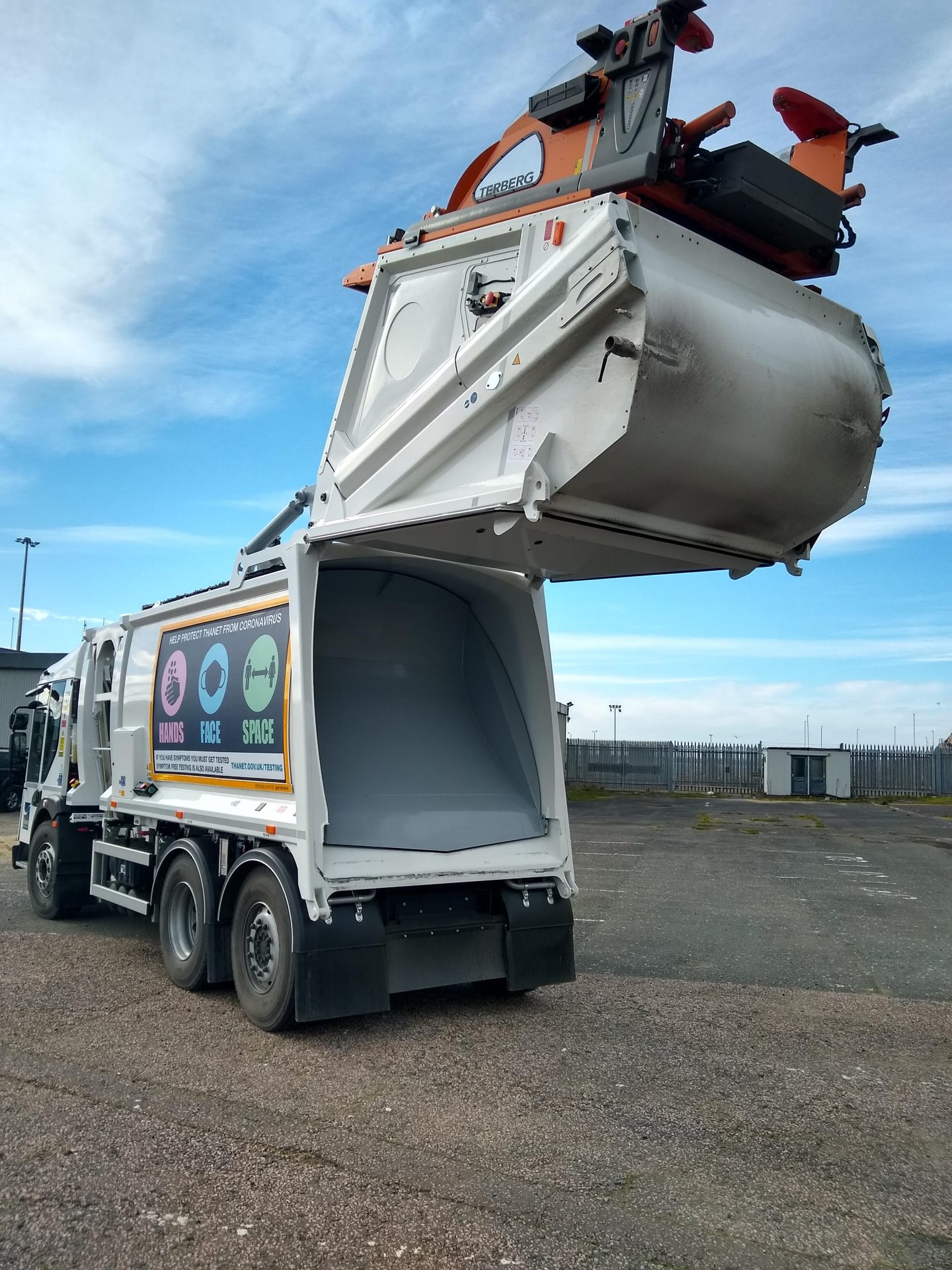 New and improved waste collection vehicles