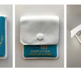 Reusable mini bin